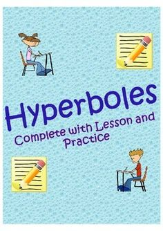 This is an excellent minilesson for teaching hyperboles to all ages! It will fit in perfectly within a figurative language unit. It also includes a quick review on other types of figurative language.