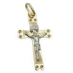 Anhänger, Kreuz mit Jesus, 9Kt GOLD Dreambase http://www.amazon.de/dp/B00L59RHA6/?m=A37R2BYHN7XPNV