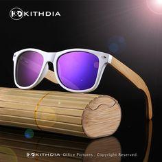 3f74dc6fcd3 KITHDIA 2017 Natural Bamboo Sunglasses Men Women Brand Designer Mirror Glasses  Fashion Unisex Eyewear wooden sunglasses man eye candy    Shop 4 Xmas n ...