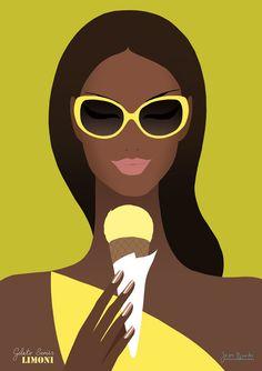 Art by Jason Brooks - illustration illustration Graphic Design Illustration, Digital Illustration, Graphic Art, Arte Black, Black Art, Arte Pop, Jason Brooks, Frida Art, Pics Art