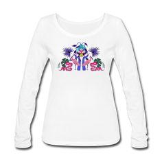 Frauen Bio-Langarmshirt von Stanley & Stella Fancy, People, Graphic Sweatshirt, Sweatshirts, Sweaters, Design, Style, Fashion, Woman
