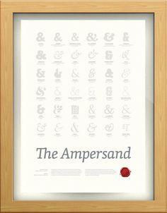 the ampersand print