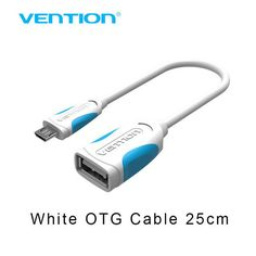 Vention OTG Adapter Micro USB To USB 2.0 Converter OTG Cable for Android Galaxy S3/4 S5 Xiaomi Tablet Pc to Flash Mouse Keyboard