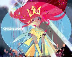 Child of Light, Aurora Female Character Design, Character Concept, Character Art, Concept Art, Pretty Art, Cute Art, Character Illustration, Illustration Art, Adveture Time
