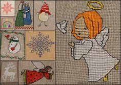 Hafciarka: Świąteczne hafciki