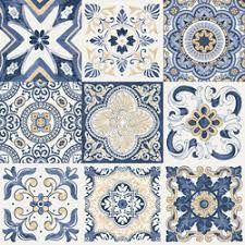 46 Best Ideas For Wall Stone Pattern Floors Floor Patterns, Tile Patterns, Art Chinois, Decoration Bedroom, Tile Crafts, Art Japonais, Kitchen Wall Tiles, Boho Home, Tile Art