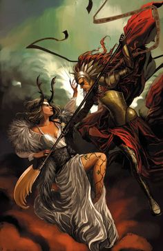 1602 WITCH HUNTER ANGELA #4
