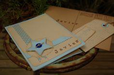 tarjeta para acompañar regalo  primera comunión niño