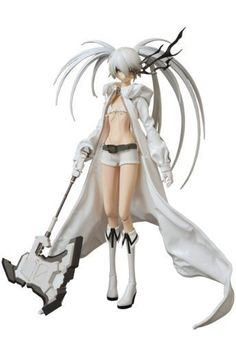 Amazon.com: Black Rock Shooter: Black Rock Shooter RAH Action Figure White Ver. (Wonder Festival 2012): Toys & Games
