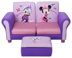 Disney Minnie Mouse 3Pc Upholstered Sectional Set - casa.com
