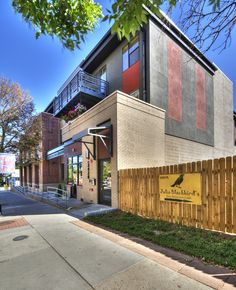 Highlands Square Modern. Listed by Mic Ortega & Live Urban Real Estate. 1 block to Pinche Tacos, Sushi Hai, Mondo Vino, yoga & all Highlands square has to offer. A quick bike ride puts you in LoHi, Downtown or Sloan's Lake. #denver #liveurbandenver