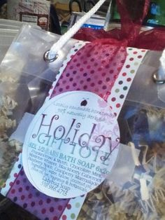 Holiday Gift Tote