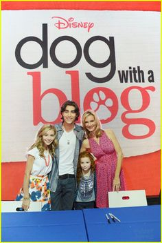 Dog with a blog - my favorite sitcom on Disney channel.