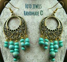 Κιν.6973386152 #foto jewels Jewels, Drop Earrings, Handmade, Fashion, Moda, Hand Made, Jewerly, Fashion Styles, Drop Earring