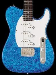 blue Sparkle Electric guitar