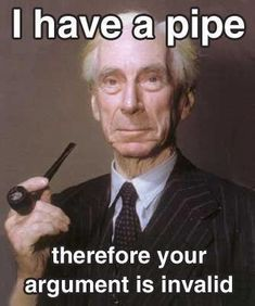 Bertrand Russell, British philosopher, logician, mathematician, historian, and social critic. http://pipesmokersguide.com/index.html