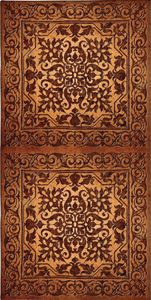 Double Iron Work tapestry