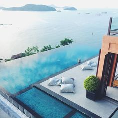 The most #gorgeous #view ever! #pool #luxury #travel