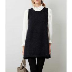 Navy Marina Sweater Dress