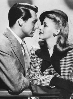 Cary Grant & Ginger Rogers.