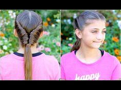 Beautiful for work or school! #cghtornadotwist #twists #hairstyles #hairstyle #braid #cutegirlshairstyles #wethairstyles #5minhair
