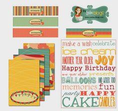 Kit Retro para Imprimir gratis. - Ideas y material gratis para fiestas y celebraciones Oh My Fiesta!