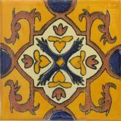 Queretaro - Handpainted Ceramic Tile