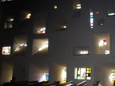 Le Corbusier. Notre-Dame-du-Haut. Ronchamp, France. 1950-54 #architecture #france