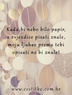 www čestitke com Neka se osoba do koje ti je stalo osjeća #posebno i #voljeno  www čestitke com