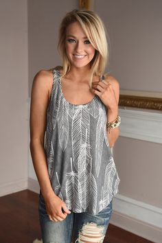 Drop of a Feather Tank – The Pulse Boutique