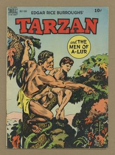 The legendary Tarzan work of artist Jesse Marsh remains an enduring, singular vision, captivating generations of comics readers and earning the acclaim of artists from Russ Manning to Alex Toth to Los Bros Hernandez. Comic Art, Comic Books, Children's Comics, Alex Toth, Nostalgia, Fantasy Illustration, Vintage Magazines, Golden Age, Illustrators