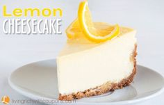 Lemon Cheesecake Recipe.  Can't get much better than this! Delicious and easy to make! Top with fruit.