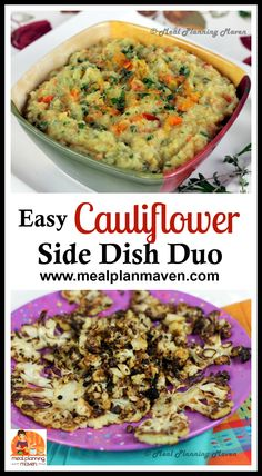 Easy Cauliflower Sid