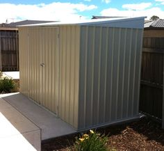 Terry's brand new shed