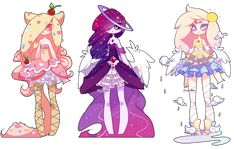 Adoptables Batch 15: CLOSED by Zombutts.deviantart.com on @DeviantArt