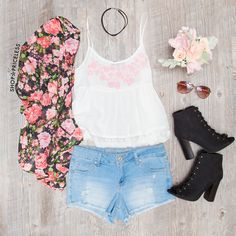 Bliss Embroidered Top
