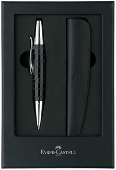 Faber-Castell E-motion Twist Ballpoint Pen Gift Set.