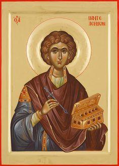 Byzantine Icons, Orthodox Christianity, Orthodox Icons, Saints, Contemporary, Children, Art, Medicine, Fresco