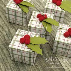 Sweet box using the Gift box punch board