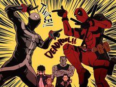 """leav it to me!"" Deadpool and Twice"