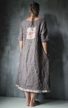 Oversized Dress, Coffee Colour, Linen Dresses, Red Stripes, I Dress, Dress Patterns, Beautiful Dresses, Designer Dresses, Fashion Dresses
