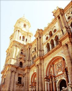 The #Cathedral of #Malaga | Photo by: Javier Jiménez | All Rights Reserved