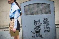 Street Style from Paris Fashion Week Spring 2014 - Paris Fashion Week Spring 2014 Street Style, Day 5