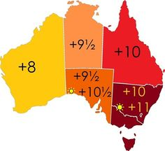 Time Zones of Australia