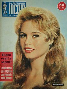 Brigitte Bardot :  La star la plus photographiée à l'époque dans le monde...