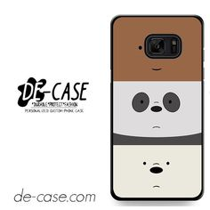 We Bare Bears DEAL-11852 Samsung Phonecase Cover For Samsung Galaxy Note 7