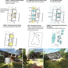 Our proposal for indigenous housing for North Queensland made use of the environment because the most comfortable part of a house is usually underneath. #heisearchitecture #HAproject #transportable #modular #sustainable