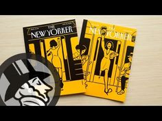 Introducing Christoph Niemann's Augmented-Reality Covers | The New Yorker - YouTube
