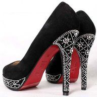 Suede Decked Out Embellished Christian Louboutin Beauty