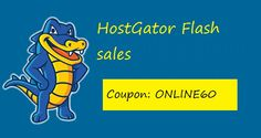 Grab theHostgator Flash Sales. This is a limited discount offer. Grab it before it ends. Extra bonus included inside for those who use the link to signup.